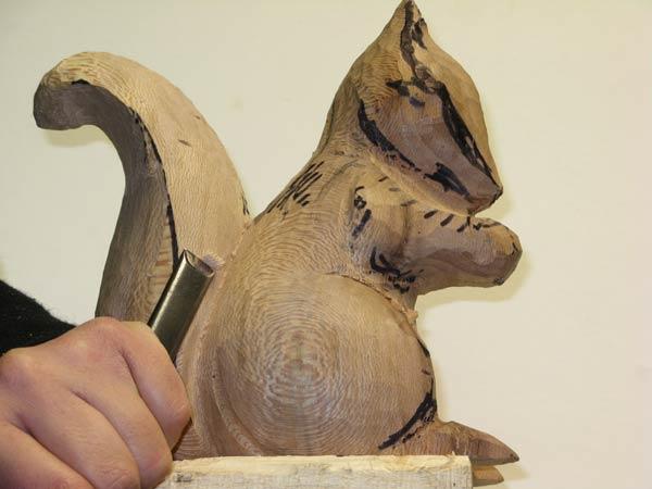 Outils de sculpture sur bois gouge plate - La sculpture sur bois ...