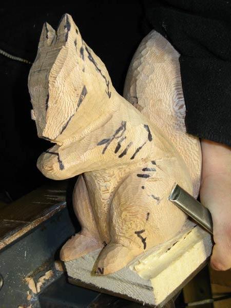Outils de sculpture sur bois gouge plate - Gouge sculpture bois ...