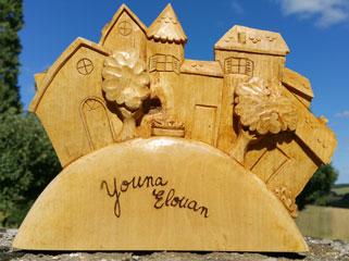 exemple de réalisation de sculpture sur bois
