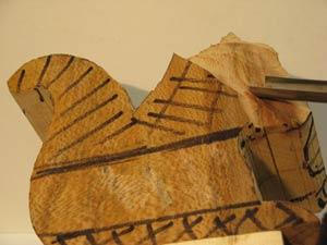 Gouge creuse pour la sculpture sur bois - Gouge sculpture bois ...