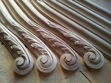 image de Apprendre la sculpture sur bois avec Fabienne Hôt.