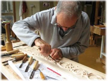 image de Photo pour apprendre la sculpture sur bois.