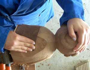 ponçage sculpture