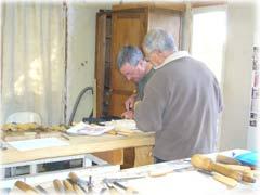Formation sculpture bois