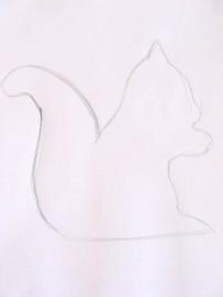 image de Tutoriel d'un écureuil sculptée. 1/11