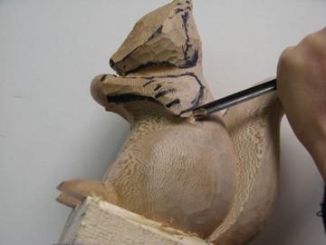 cours de sculpture sur bois avec fabienne h t. Black Bedroom Furniture Sets. Home Design Ideas