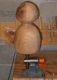 image de Tutoriel d'une lampe sculptée morderne.3/8