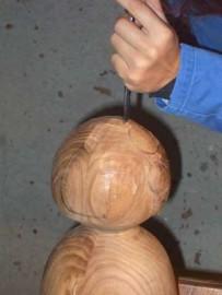 image de Tutoriel d'une lampe sculptée morderne.4/8