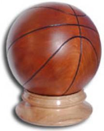 image de Ballon de basket en bois