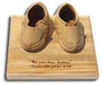 paire de basket en bois
