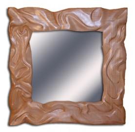 image de Cadre miroir effet drapé