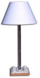 image de Lampe roses sculptées