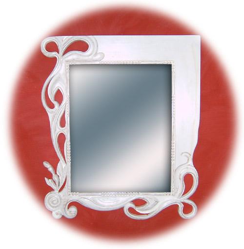 miroir inspir art nouveau de fabienne h t. Black Bedroom Furniture Sets. Home Design Ideas
