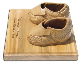 image de Paire de basket en bois