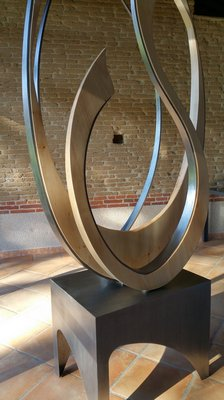 sculpture bois fer