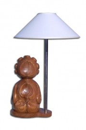 image de Sculpture lampe moderne