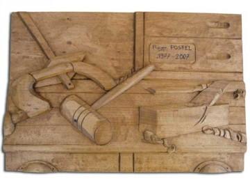 image de Tableau bas relief menuisier